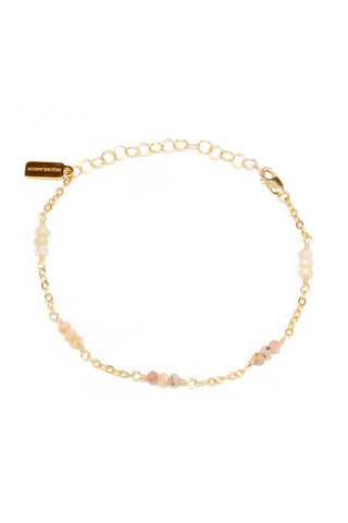 Amber Long Necklace | Moonstone
