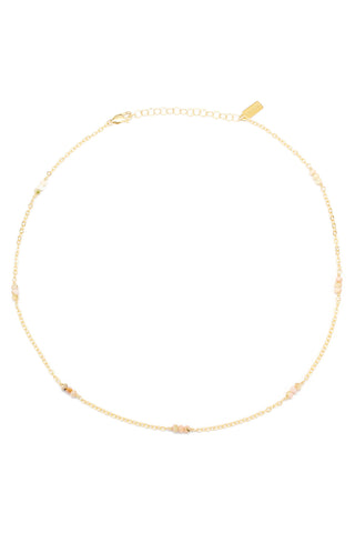 Blake Necklace | Pearl & Moonstone