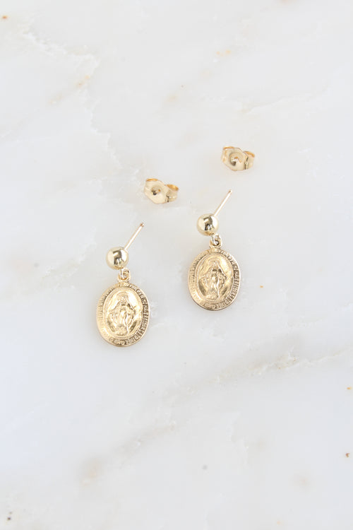 Mary Charm Earrings