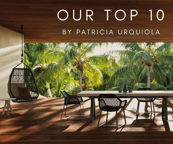 Our top 10 by patricia urquiola