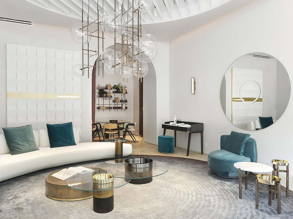 The Gallotti&Radice boutique in the center of Paris