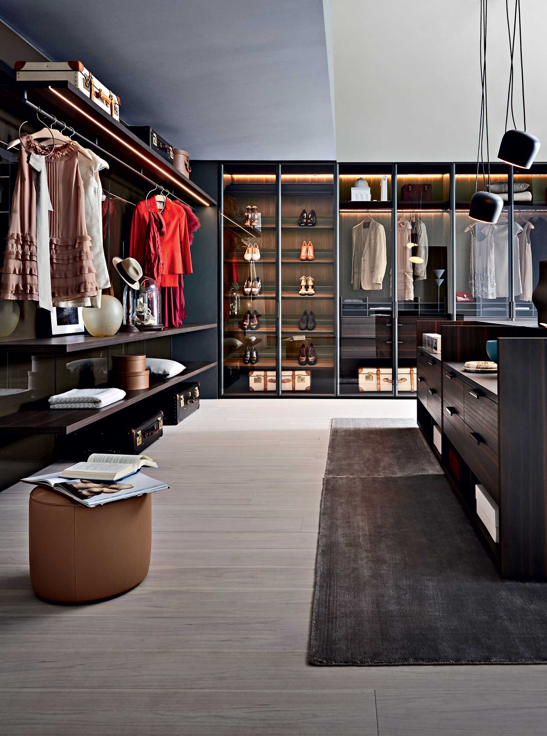 Molteni&C Boston Luxury Custom Closets