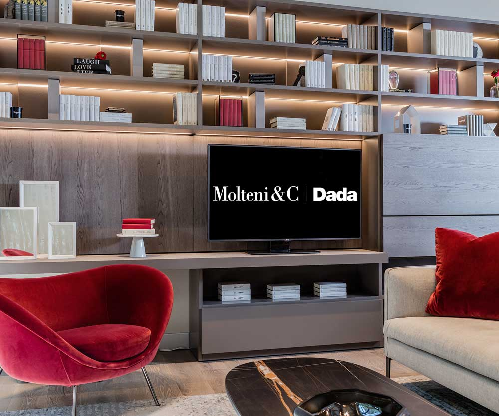 Molteni&C Dada Boston Flagship Store