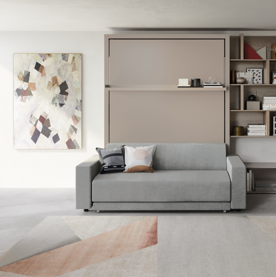 Clei Transformable Sofa and Murphy Bed