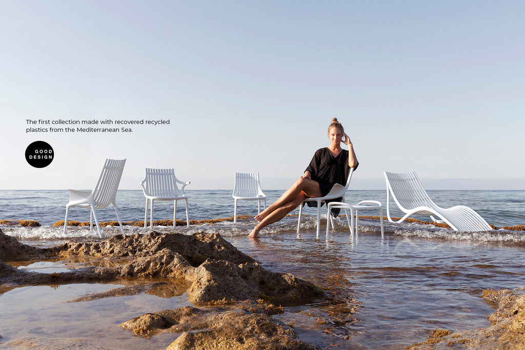 IBIZA Collection by Vondom made from Recycled Plastic