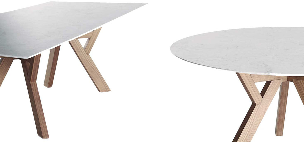 Trigono Table by Venicem