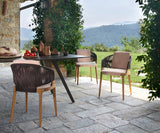 Velis Hand Weaved Outdoor Chair Potocco