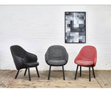 Ton Alba Chair Fabric and Leather