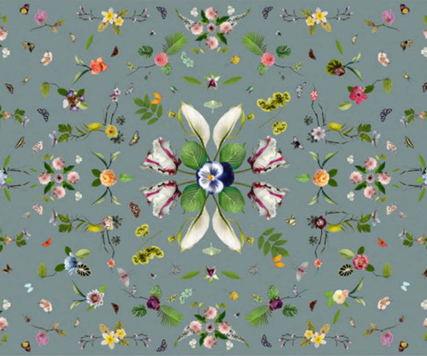 Garden of Eden Grey Rug