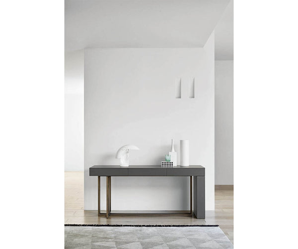 Quincy Console Meridiani Editions Shine Meridiani Casa Design Group