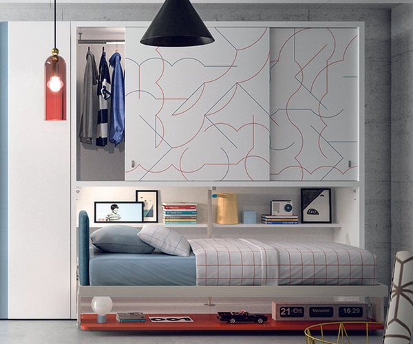 Kali Ponte Board Wall Bed Clei