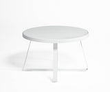Flat High Circular Dining Table
