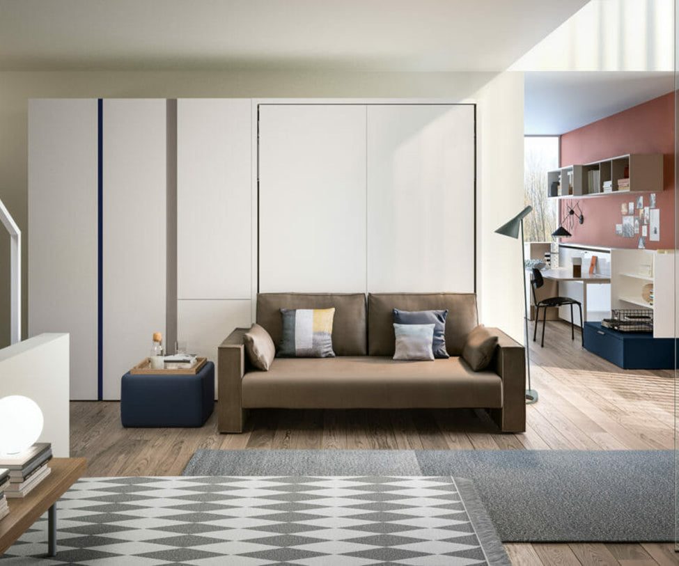Penelope 2 Sofa and Wall Bed Clei