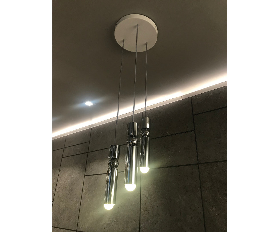 Fulcrum 3-Piece Chandelier Lee Broom