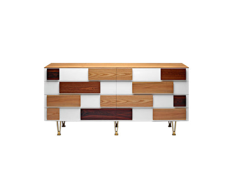 Gio Ponti D.655.1 - D.655.2 Chests of Drawers