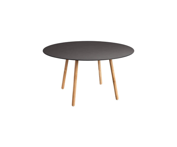 Round Solid Round Dining Table