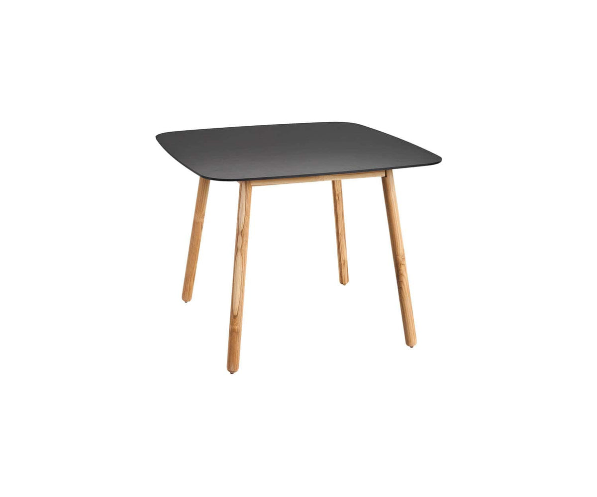 Round Square Solid Dining Table
