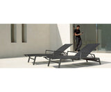 Gloster Azore Stacking Lounger Mercury Outdoors