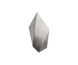 CTO Lighting Abstract Wall Sconce Silver