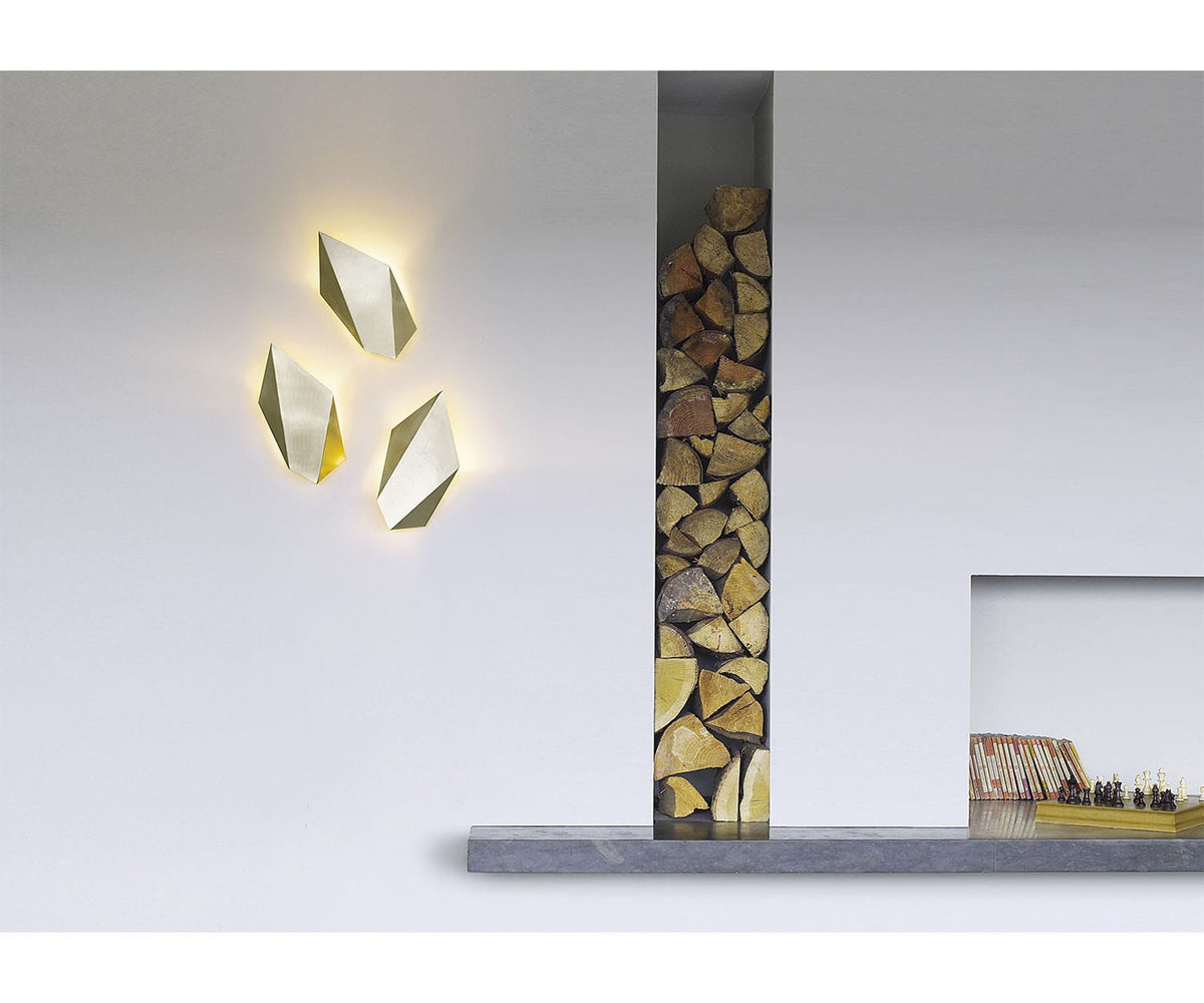 CTO Lighting Abstract Wall Sconce Lounge