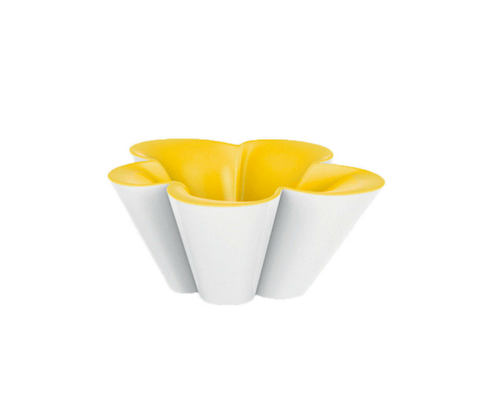 Vondom Agatha Planter White/Yellow