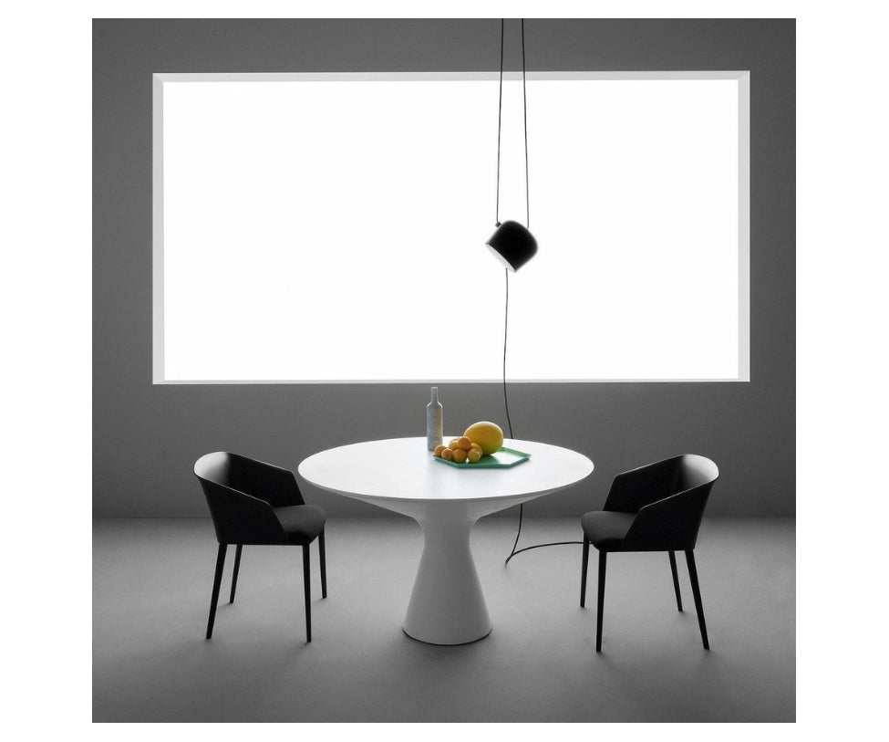 Flos Aim Pendant Black Hand-Wired and Plug-In Connection