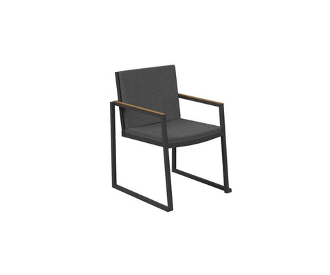 Alabama Alu Dining Armchair