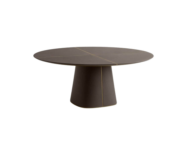 Artu 160 Leather Dining Table