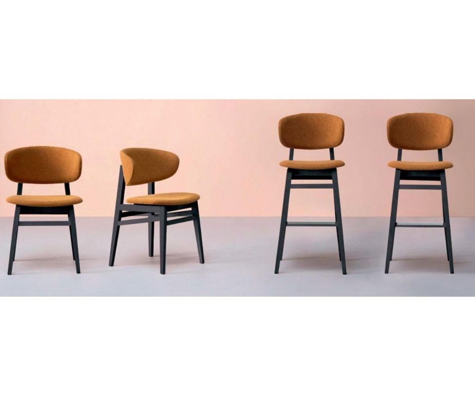 Accento Bacio SI Dining Chair Shapes