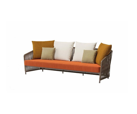 Bitta Lounge 3 Seater Sofa Rope