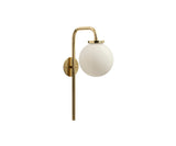 Big Bulb Opal Wall Sconce