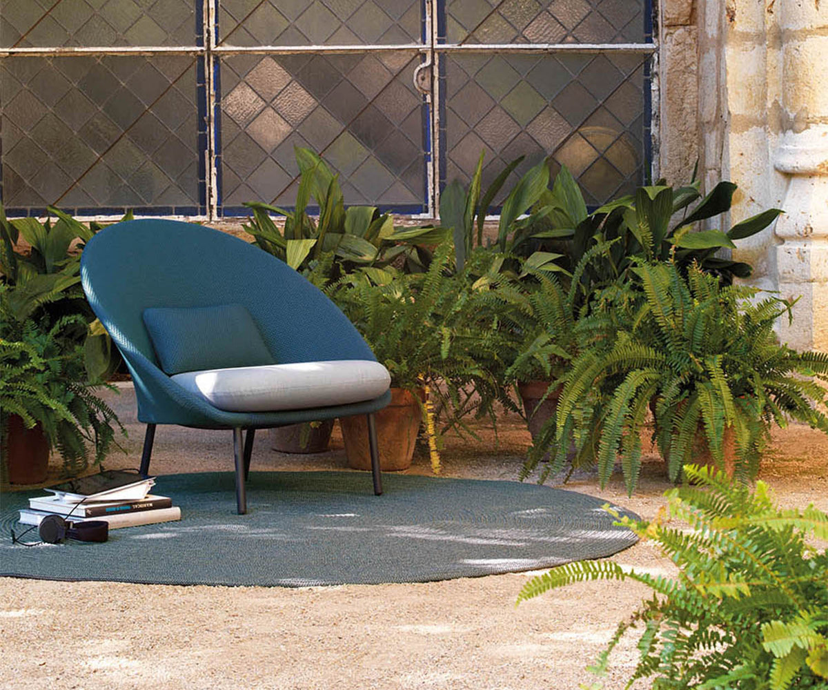 Twins Outdoor Low Armchair