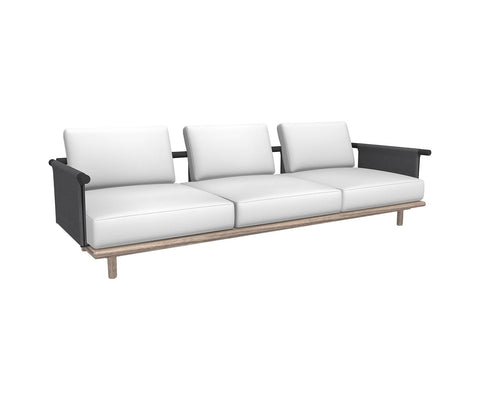 Eden 3seater sofa - Batyline back