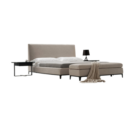 Floor Model Crescent Bed King Size