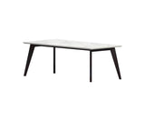 Coco Wolf Abacus Dining Table Iroko Wood
