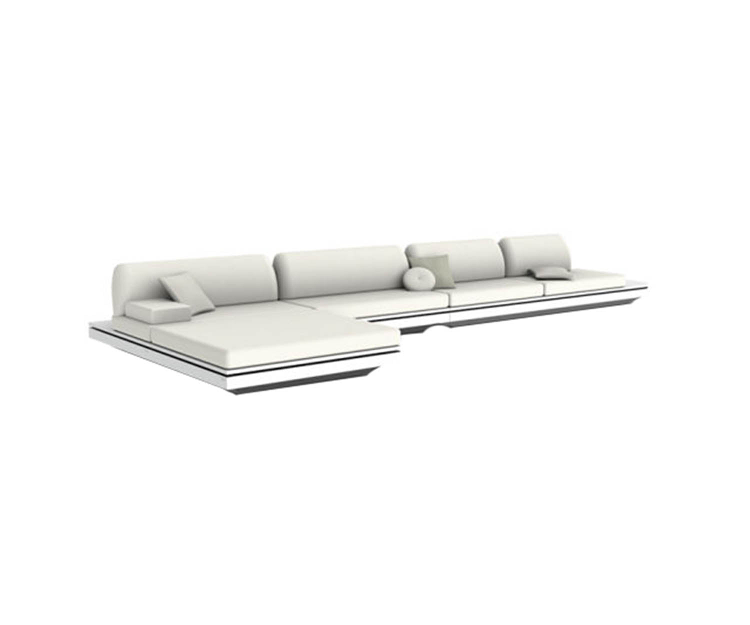 Elements Concept 4 Sectional Manutti