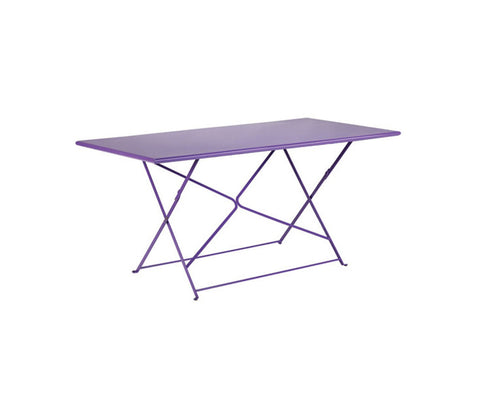 Flower 160 Rectangular Folding Table