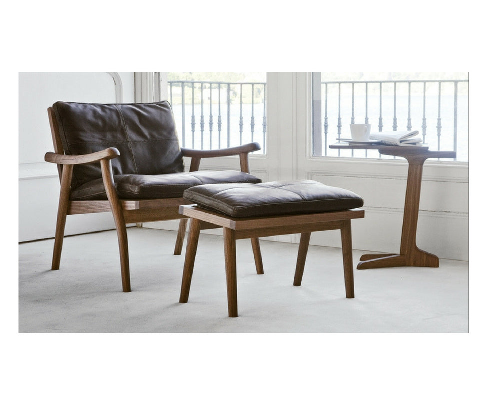 Vibieffe 1000 Fast Canaletto walnut wood Armchair