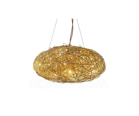 Fil de Fer Ovale Suspension Lamp