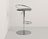 Fizzy Chrome Back Stool