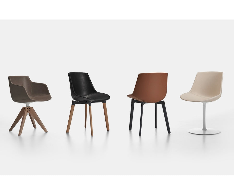 Flow Leather Chair MDF Italia