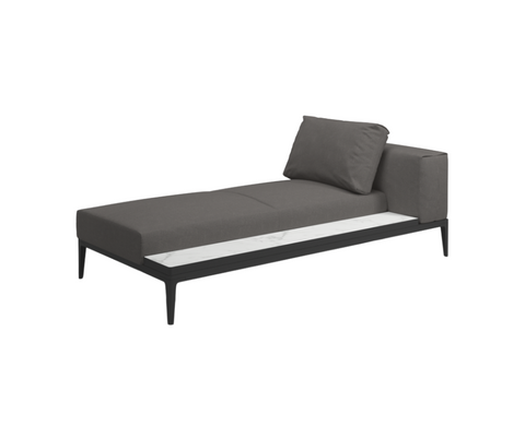 Grid Right Chaise