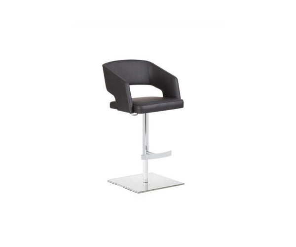 Jolly Swivel Barstool Upholstered Seat Potocco