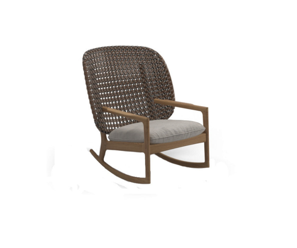 hot sale online 38f4f 9fab4 Kay High Back Rocking Chair | Gloster | Casa Design Group