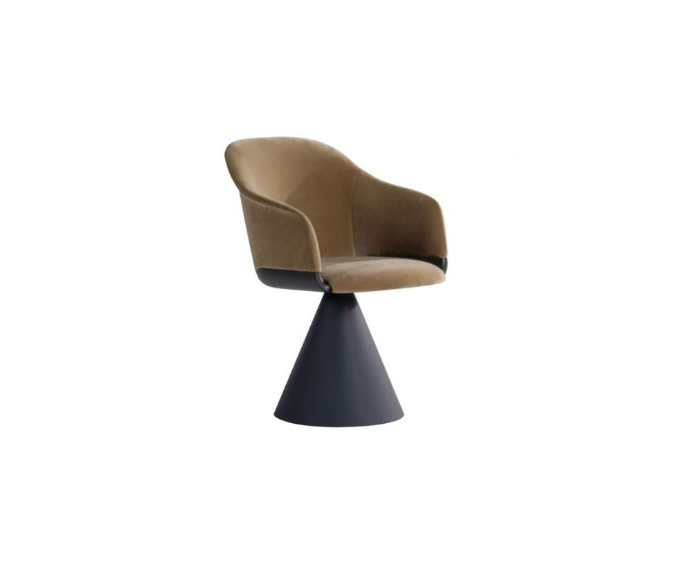 Lyz Chair/ Armchair Cone Base Potocco