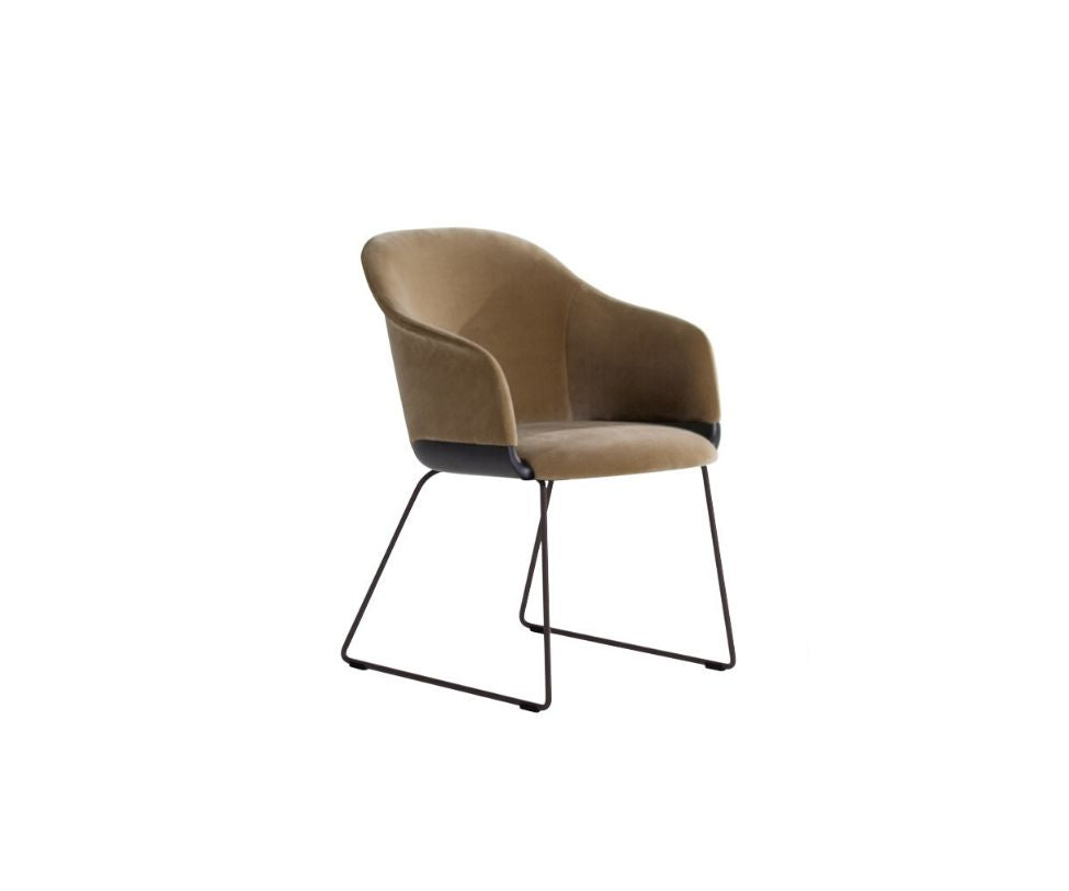Lyz Chair/Armchair Sled Base Potocco