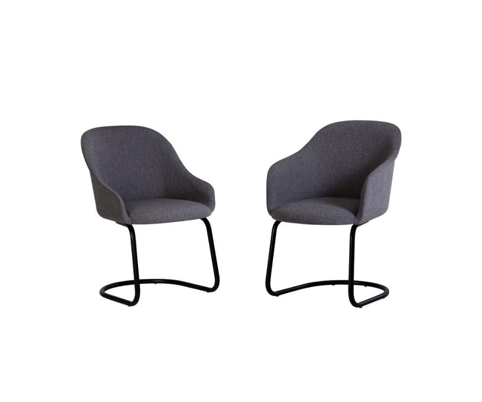 Lyz Fully Padded Seat With Cantilever Base Potocco