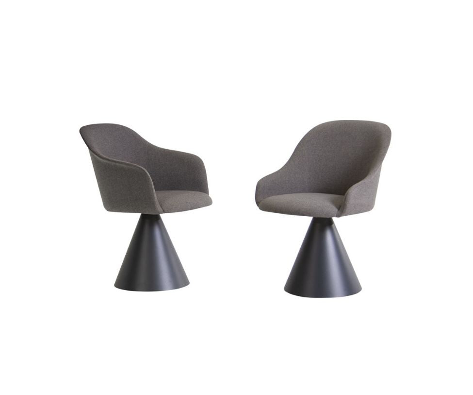Lyz Fully Padded Seat W/Cone Base Potocco