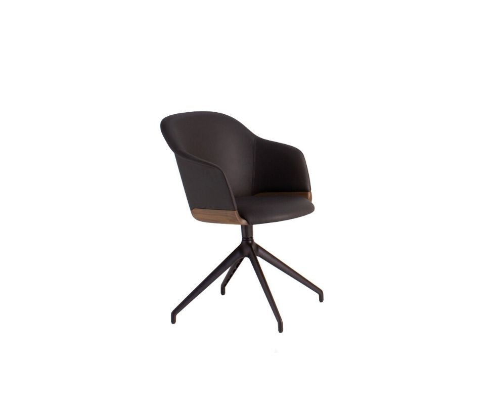 Lyz Star Base Dining Armchair Potocco