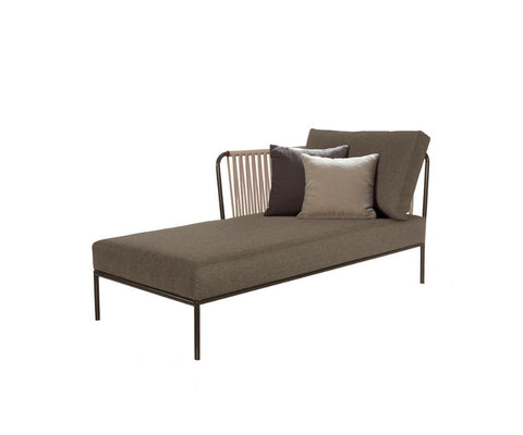 Nido Hand-Woven Left Chaise Longue